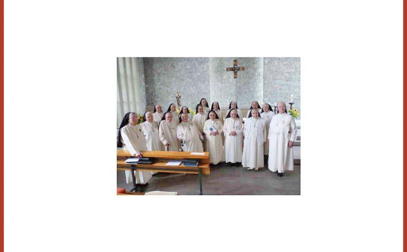 15. April 2018 Feier der Professjubiläen im Institut St. Dominikus