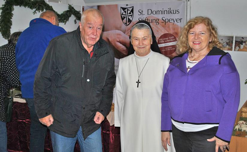 St Dominikus Stiftung Speyer begeistert Besucher auf dem Weihnachtsmarkt 2018