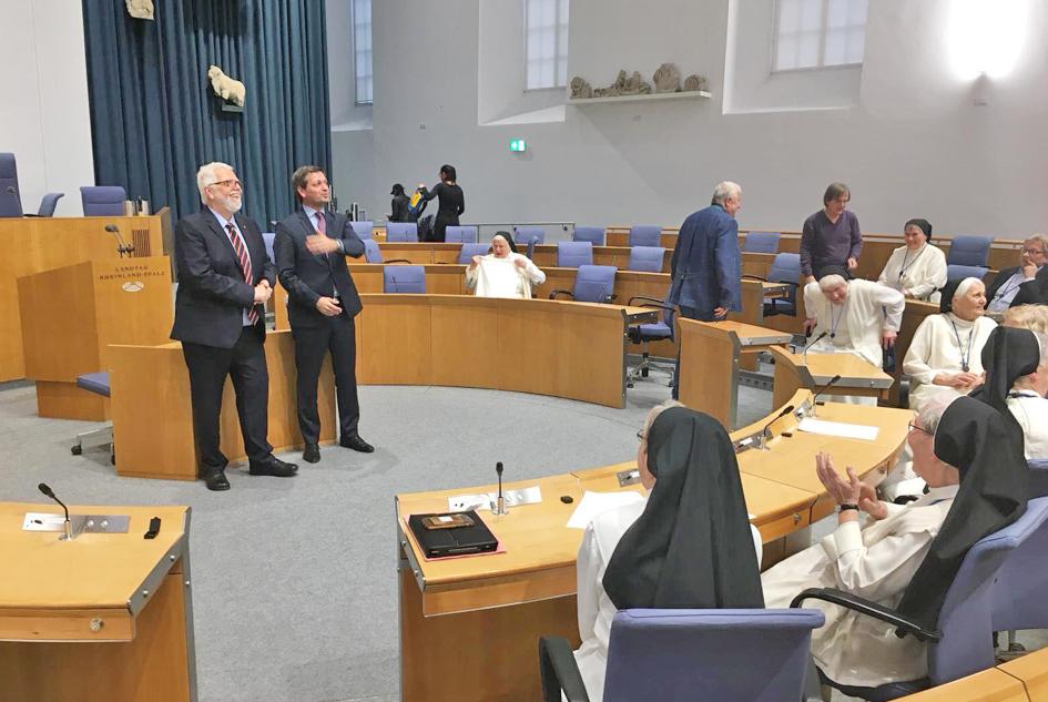 Reinhard Oelbermann (links) Christian Baldauf (rechts)