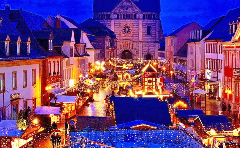 St. Dominikus Stiftung Speyer erstmalig mit einem Stand auf dem Speyerer Weihnachtsmarkt vertreten.